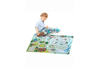 Tapis enfant House Of Kids Connecte montagne multicolore 100 x 150 cm fabriqué en europe tapis pour enfants chambre par house of kids