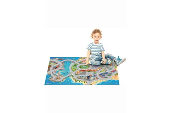 Tapis enfant House Of Kids Connecte mer multicolore 100 x 150 cm fabriqué en europe tapis pour enfants chambre par house of kids