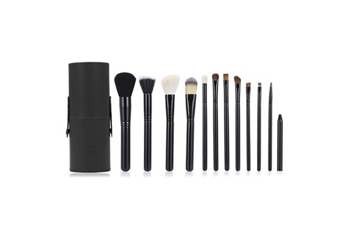 Alpexe Maquillage Pinceaux, Luxebell maquillage professionnel Kit Brush Set 12PCS Cosm�tique Blending Fard � Paupi�res Fondation Concea