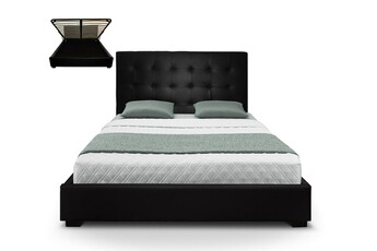 tout le choix darty en lit de 2 places de marque cotecosy darty. Black Bedroom Furniture Sets. Home Design Ideas