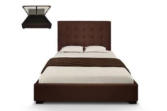 Tout le choix darty en lit de 2 places de marque cotecosy darty - Lit capitonne 140x190 ...