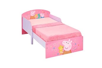 Ce lit à l´éffigie de Peppa Pig permettra à votre enfant de passer d´agréables nuits. Transition idé