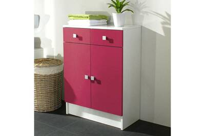 Meuble salle de bain Mobilier Elément bas 2 portes 2 tiroirs l60xp29 ...