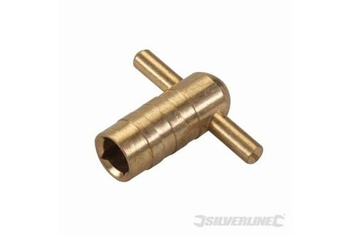 Silverline 2 clés de vidange pour radiateur 2 clés SILVERLINE 427586