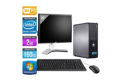PC de bureau Dell 780 - core duo - 160go - wifi + ecran 19     Darty 59061f053216