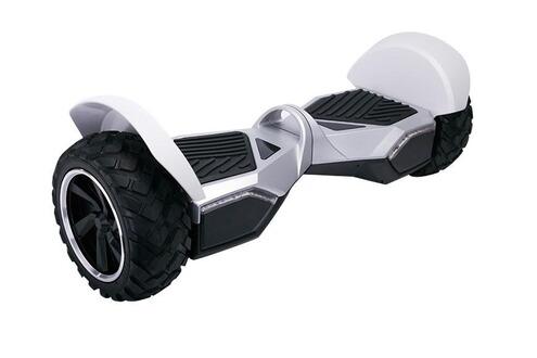Gyropode Company 99 Hoverboard Gyropode Hummer Tout terrain Blanc Enceintes Bluetooth