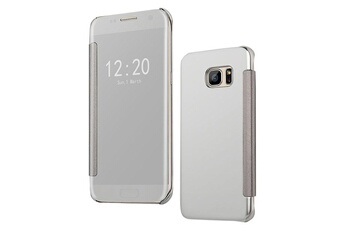coque clear view cover samsung s7 edge