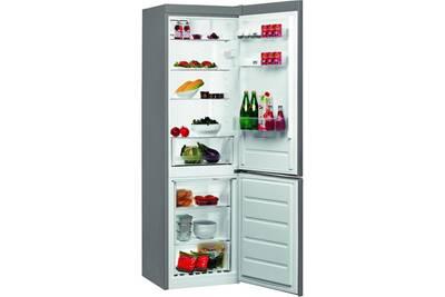refrigerateur congelateur en bas whirlpool refrigerateurs combines inverses blfv 8121 ox darty. Black Bedroom Furniture Sets. Home Design Ideas