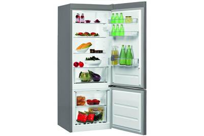refrigerateur congelateur en bas whirlpool refrigerateurs combines inverses blf 5001 ox darty. Black Bedroom Furniture Sets. Home Design Ideas