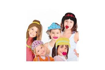 Tout pour la fête 1163 Accessoires Princesse pour Photos Amusantes (pack de 12)