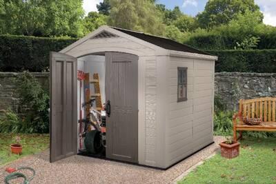 CHALET&JARDIN - Abri de jardin aspect bois 5,6 m2