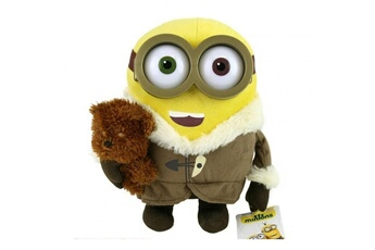 Figurines personnages Whitehouse Leisure Llp Peluche moi moche et méchant - minion ice village bob avec ourson 26cm