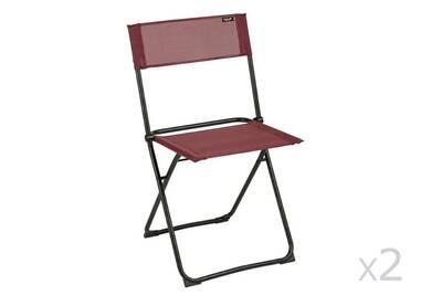 Chaise et fauteuil de jardin Lafuma Chaise de jardin pliante en ...