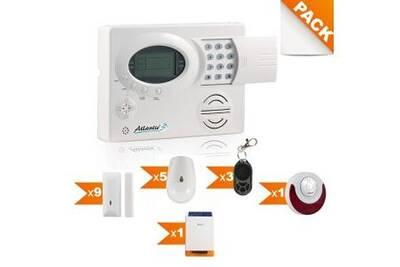 ST-III - Alarme maison sans fil Kit 10