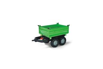 Véhicule à pédales ROLLYTOYS Rolly Toys 121502 Mega Trailer, remorque pour tracteurs à pédales