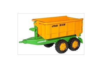 Véhicule à pédales ROLLYTOYS Rolly Toys 12 321 6 Remorque benne Joskin pour traicteurs Rolly Toys
