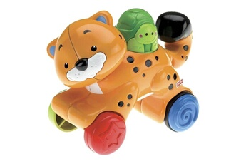 Poupées Mattel Mattel N8162 Fisher-Price - Gu?pard roulant - Animaux press & go