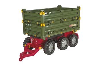 Véhicule à pédales ROLLYTOYS Rolly Toys 125012 Remorque trois essieux pour tracterus Rolly Toys