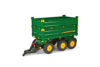 Véhicule à pédales ROLLYTOYS Rolly Toys 125043 RollyMulti Trailer John Deere - Remorque pour tracteurs à pédales.
