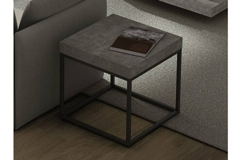 Chevet Inside 75 Petra Table Basse Gueridon Aspect Beton