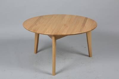 table basse inside 75 table basse ronde olga en chne massif - Inside75 Table Basse