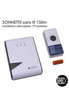 Votre recherche sonnette sans fil darty - Sonnette sans fil sans pile ...