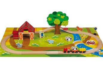Jouets premier âge Imagin Mon premier circuit en bois la ferme