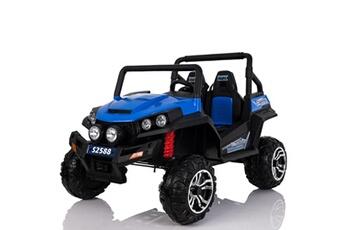 740797e483af2 Véhicule électrique Grand 4x4 buggy voiture électrique enfant 2 places  pneus EVA 24V Bleu AUCUNE