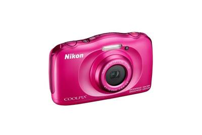 appareil photo compact nikon compact tanche coolpix w100 rose darty. Black Bedroom Furniture Sets. Home Design Ideas