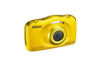 appareil photo compact nikon compact tanche coolpix w100 jaune darty. Black Bedroom Furniture Sets. Home Design Ideas