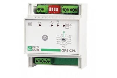 Thermostat et programmateur de chauffage Delta Dore Gp6 cpl