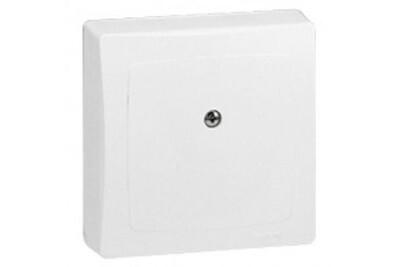 Thermostat et programmateur de chauffage Legrand Boîte de dérivation appareillage saillie complet blanc legrand
