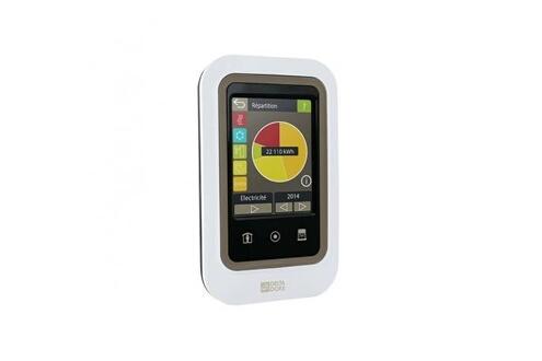Thermostat et programmateur de chauffage Tywatt 2000 indicateur de consommation d'énergie et gestion des occultants Delta Dore