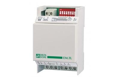 Thermostat et programmateur de chauffage Delta Dore Em t.i. Émetteur télé-info delta dore - 6250031