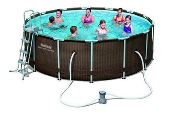 Tout le choix darty en piscine enfant de marque bestway for Piscine tubulaire imitation bois