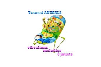 Chaise haute KINDERKRAFT Transat balancelle animals siège bébé kinderkraft