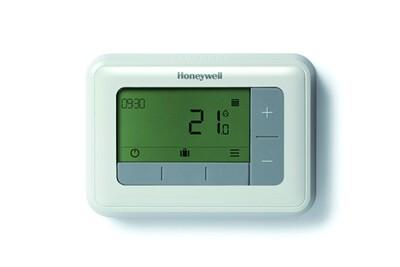 Thermostat et programmateur de chauffage Honeywell Thermostat d'ambiance digitale t4 filaire programmable - honeywell