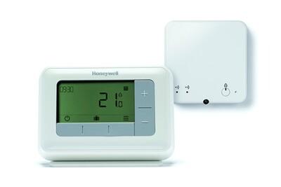 Thermostat et programmateur de chauffage Honeywell Thermostat d'ambiance digitale t4r sans fil programmable - honeywell