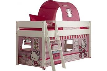 Lit mi hauteur pour enfant 90x200 design   Hello Kitty