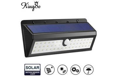 Luminaire solaire Alpexe Lampe Solaire Extérieur 44 LEDs Détecteur ...