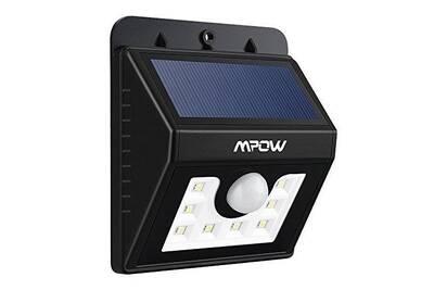 Luminaire solaire Alpexe Lampe Solaire LED Etanche Faro Lumiere 8 ...