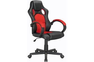 Fauteuil bureau direct ameublement fauteuil de bureau max rouge et