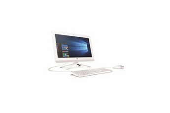 Hp Hp pc tout-en-un - 20 - 20c010nf - 4go de ram - windows 10 - amd e2-7110- amd radeon r2 - disque dur 1to