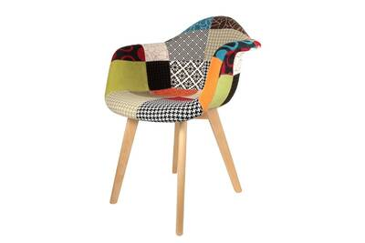 Fauteuil PatchworkDarty Factory Concept The Scandinave kZiXPu