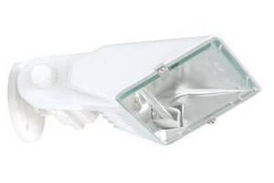 Applique extérieure ranex projecteur à fixer blanc avec ampoule