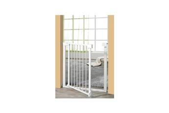 Barrière de sécurité bébé Geuther Geuther barriere vario safe sans percer métal blanc 74,5 - 82,5 cm