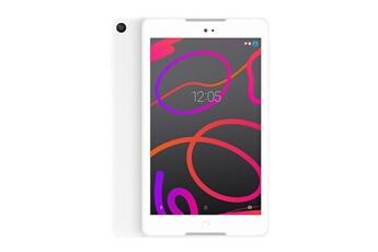 Bq Aquaris M8 Tablette 8 (WiFi, MediaTek Quad Core, 2 Go de RAM, mémoire interne de 16 Go, micro SD, appareil photo 5 Mpx, Android) Blanc
