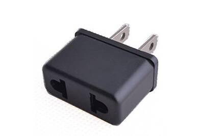 connectique informatique cabling adaptateur secteur france europe pour prises de courant usa. Black Bedroom Furniture Sets. Home Design Ideas