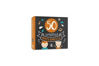 Jouets premier âge Eveil Et Decouvertes CD 50 comptines de maternelle