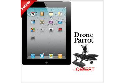 tablette tactile apple apple ipad 2 32go wifi 3g noir grade b avec un drone parrot offert darty. Black Bedroom Furniture Sets. Home Design Ideas